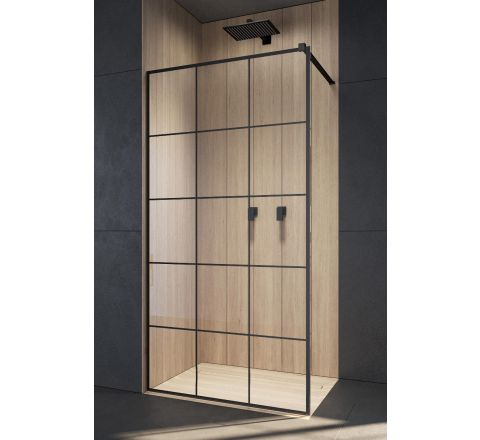 RADAWAY MODO NEW BLACK II FACTORY KABINA WALK-IN 125 cm